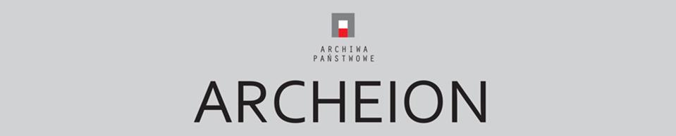 Logotyp czasopisma Archeion